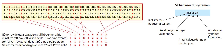 Matematiskt antal rader och nyckelrader.