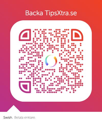 Backa TipsXtra med Swish